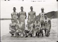 Cornell's Varsity Rowing Team, 1911