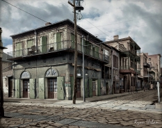 New Orleans 'Old-Absinthe House' on Bourbon Street Circa 1903